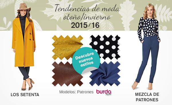 Tendencias de moda otoño/invierno 2015/16, encuentra las telas adecuadas en telas.es