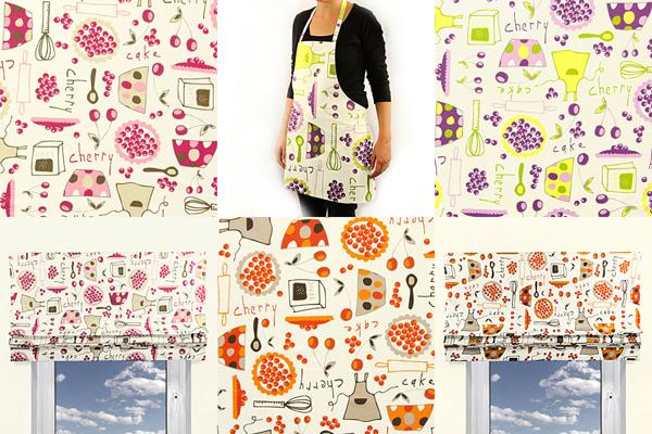 Tecidos decorativos para cozinha