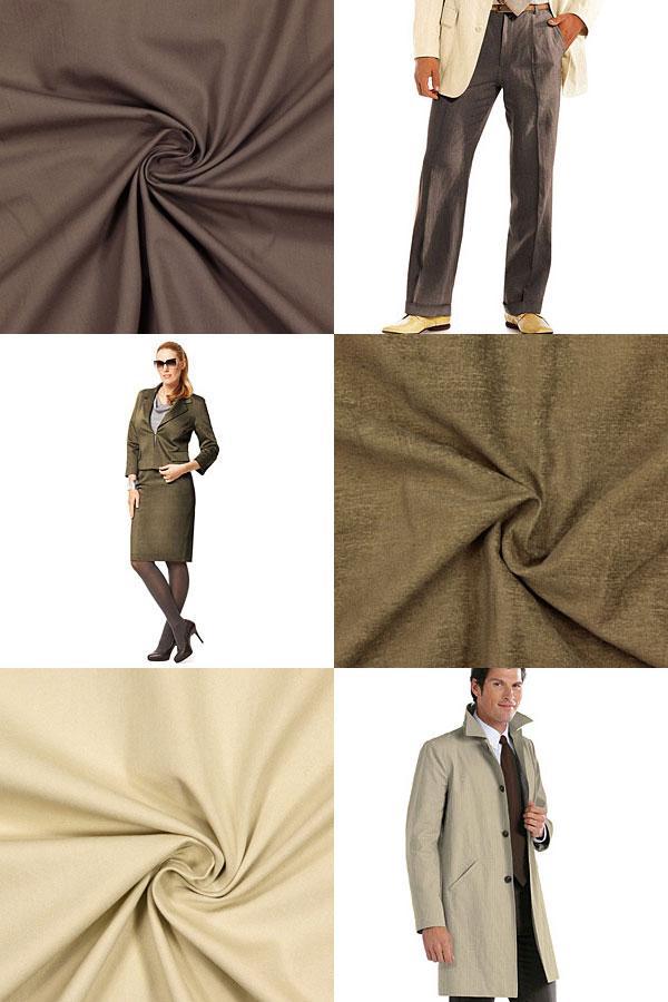 Reducerade kostym- och dräkttyger