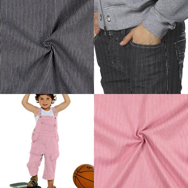 Tkaniny dżinsowe w paski