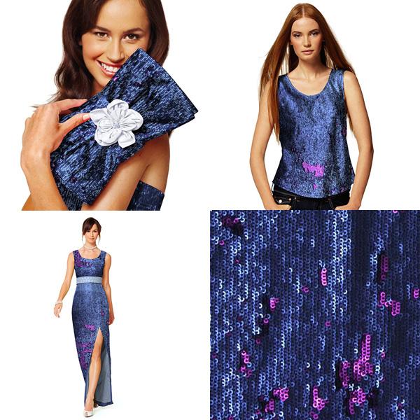Dramatic sequins fabric
