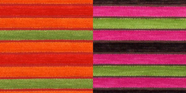 Tissu pour meubles à rayures