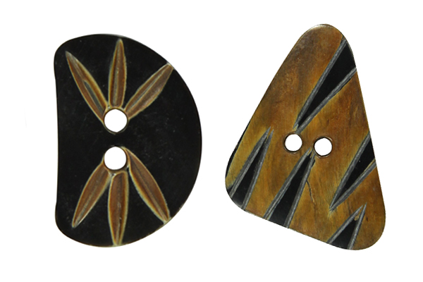 Botões de corno