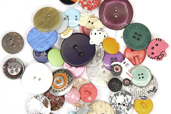 Sortimento de botões