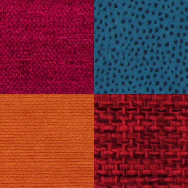 Polsterstoffer i mange farver