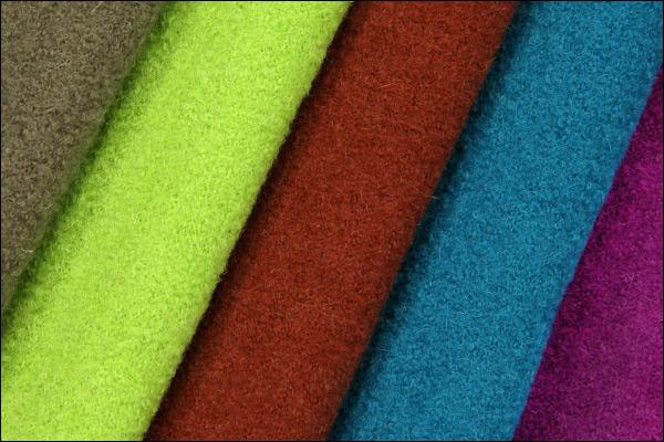 Nya färger, valkad loden