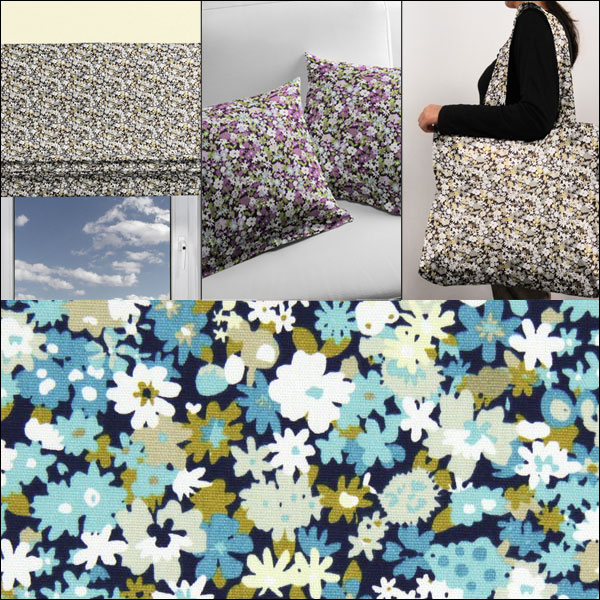 Millefleur decoration fabrics