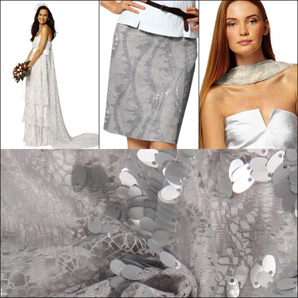 Sequin lace