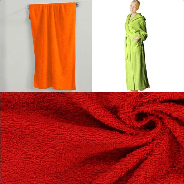 Nouvelles couleurs : tissu éponge