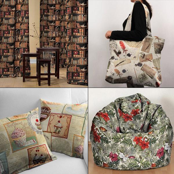 Tecidos de tapeçarias
