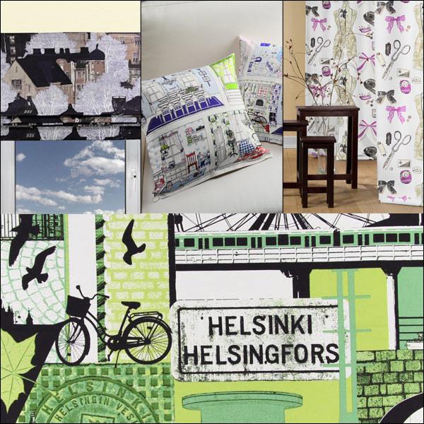 Tecidos decorativos finlandeses