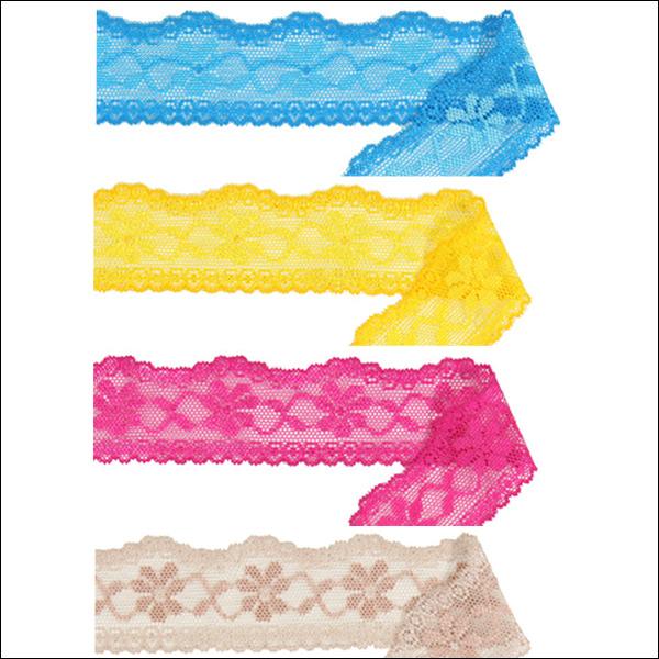 Raschel lace