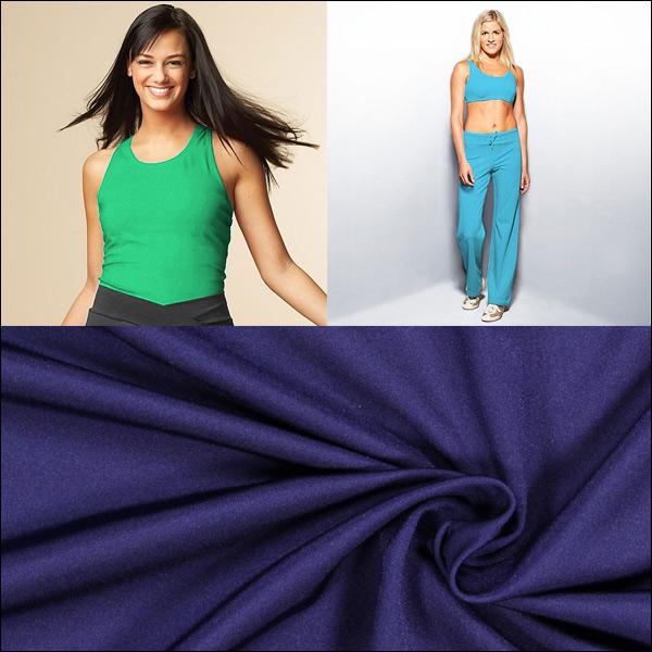 Nouvelles couleurs de tissu maillot de bain