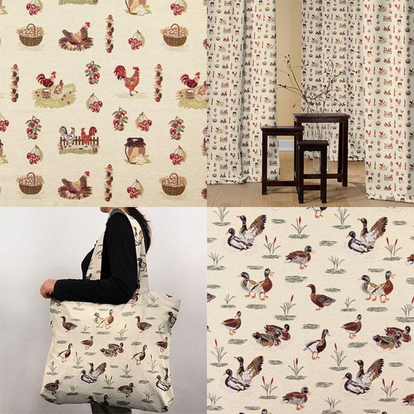 Tecidos de tapeçaria