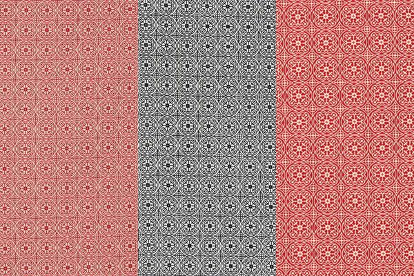 Tessuti in cotone con motivi ornamentali