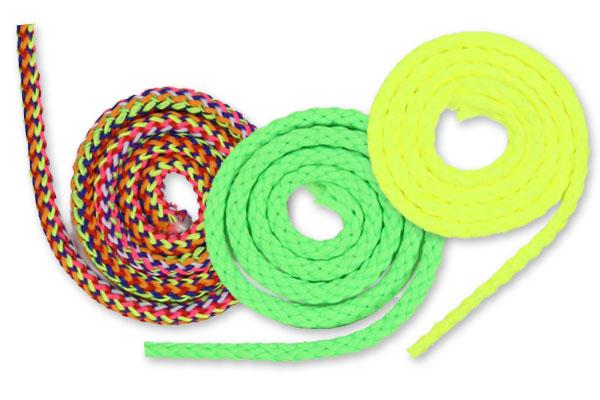 Cordões em cores neon