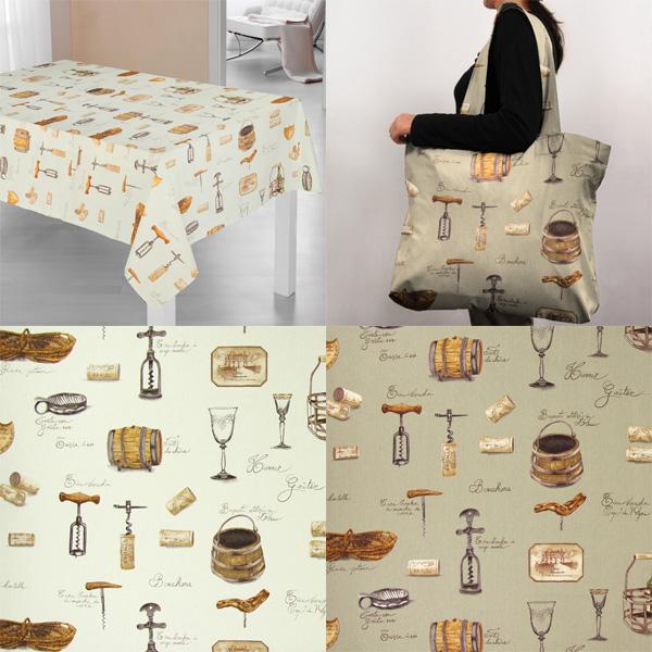Telas de decoración para sibaritas