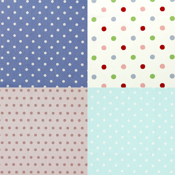 Dotted cotton fabrics