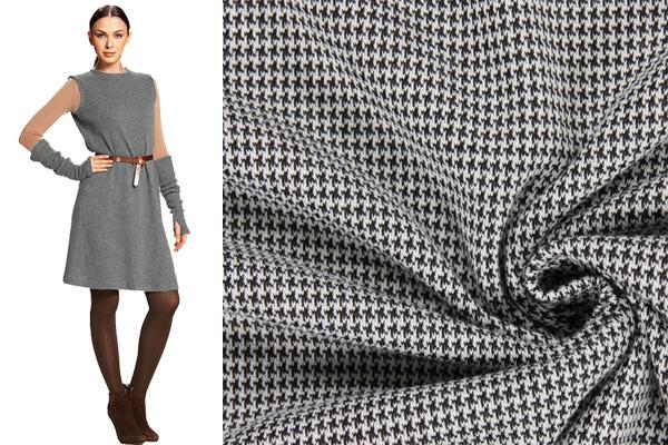 Tissus tricotés à motifs