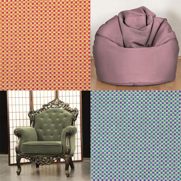 Tecidos para mobiliário com estrutura Panama