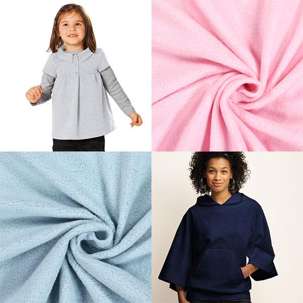 Tissu polaire coton