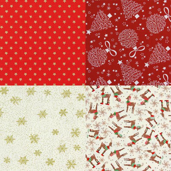 Tkaniny na Święta Bożego Narodzenia