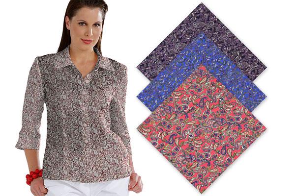 Tkaniny ze wzorem Paisley