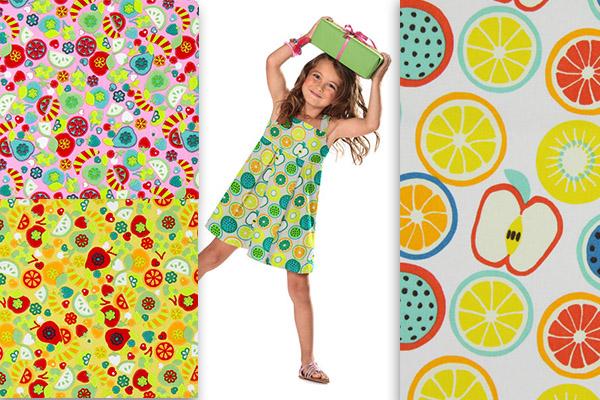 Tecidos frutados