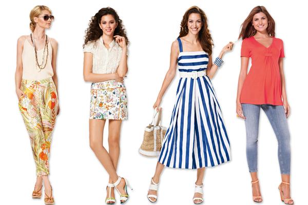 Cartamodelli Burda per la primavera 2014