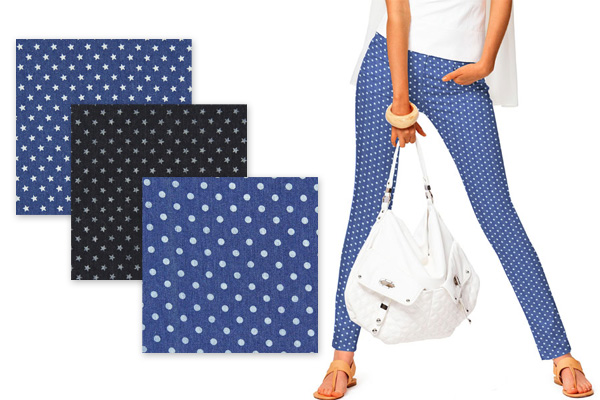 Jeans met print