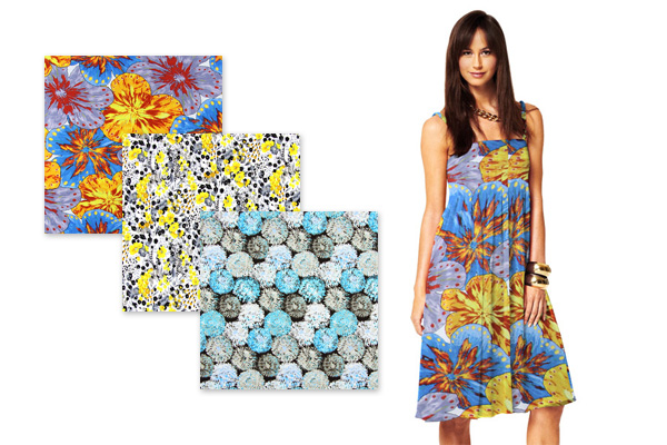Jersey com padrão de flores