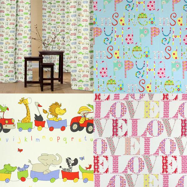Tissus décoratifs pour la chambre des enfants