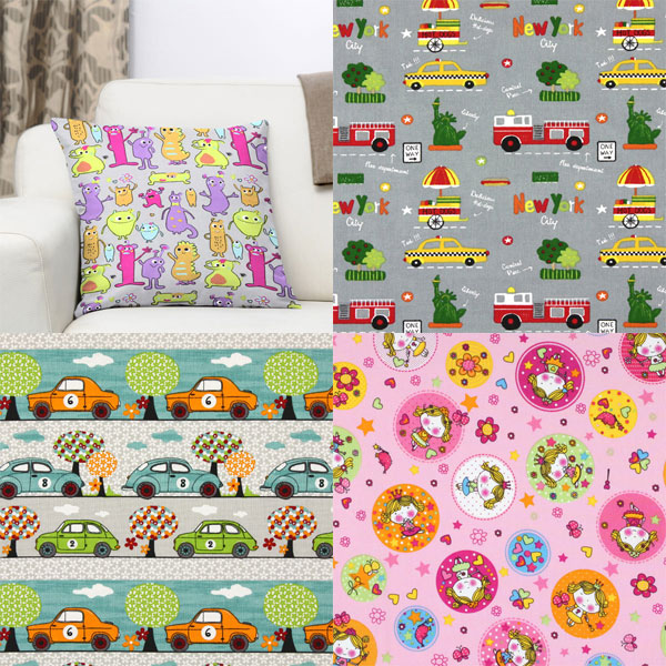 Kids archive for Childrens cotton fabric