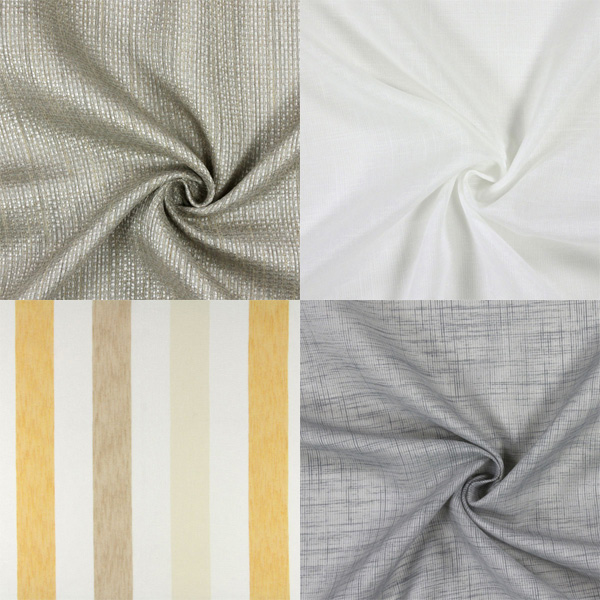 Room-high decoration fabrics