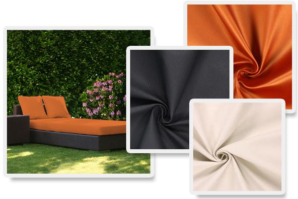 Telas para muebles en óptica de cuero