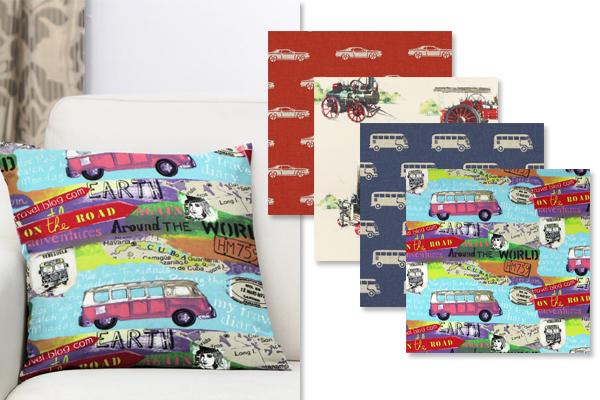 Tissus décoratifs voitures