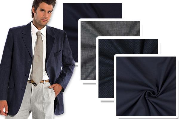 Wysokiej jakości materiały na garnitury