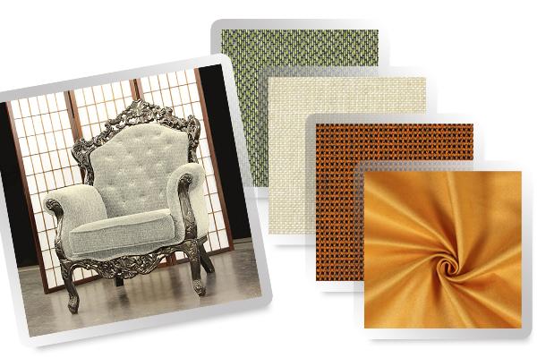 Tecidos para mobiliário a preços reduzidos