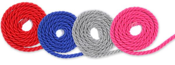 cuerdas de algodón