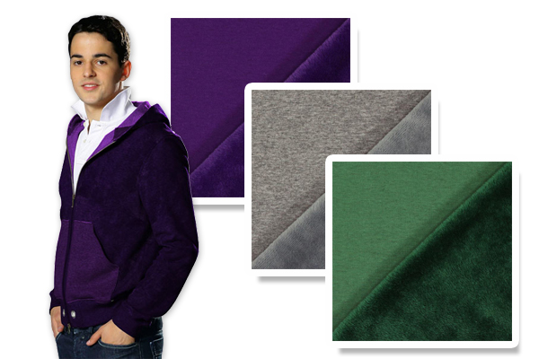 Collegekangas fleece
