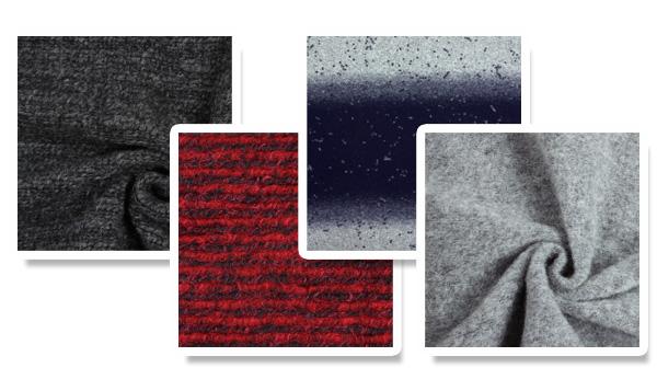 Tecidos de lã a preços reduzidos
