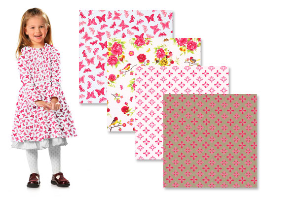 Telas de algodón para princesas