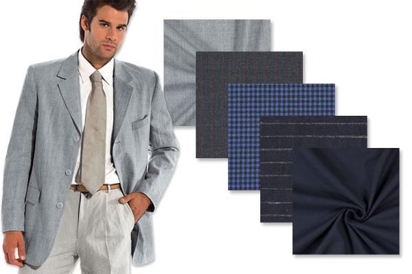 Tkaniny na garnitury
