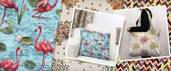 Telas de tapiz