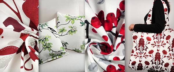 Tkaniny dekoracyjne z kolekcji Arvidssons