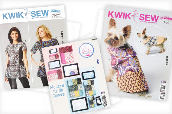 Kwik Sew dressmaking patterns
