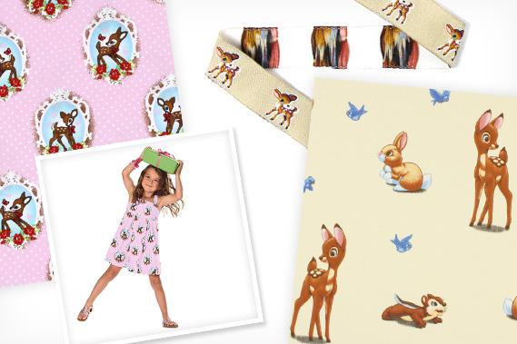 Diseños de Bambi