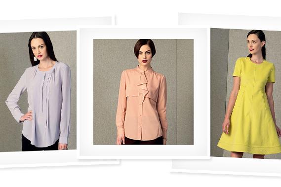 Patrons de couture Vogue et Butterick