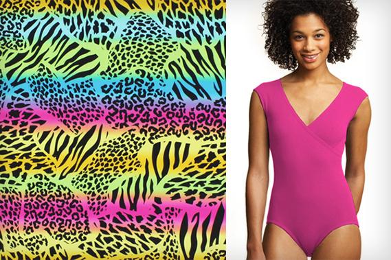 Swimming costume fabrics