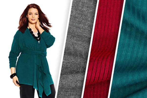 Ribbed knits